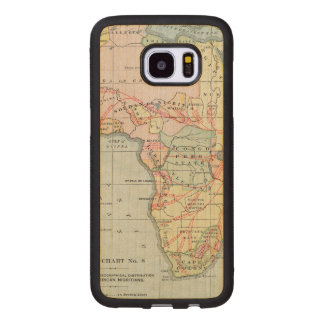 AFRICA: MAP, 1894 WOOD SAMSUNG GALAXY S7 EDGE CASE