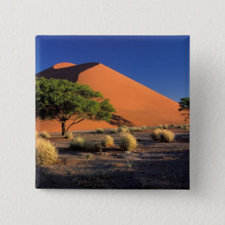 Africa, Namibia, Namib-Naukluff Park, Sossosvlei 2 Inch Square Button