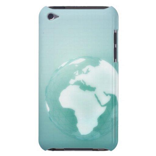 Africa on Globe iPod Case-Mate Case
