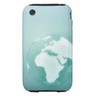 Africa on Globe iPhone 3 Tough Cases