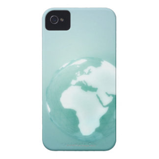 Africa on Globe iPhone 4 Case