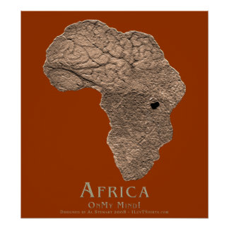 Africa On My Mind Poster