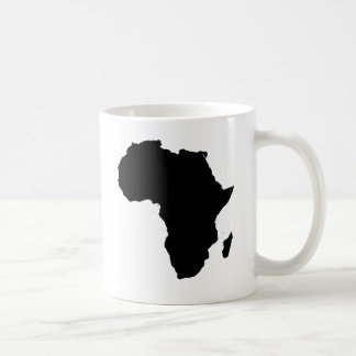 Africa Outline Map Customizable Product Coffee Mug