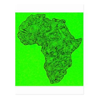 africa postcard