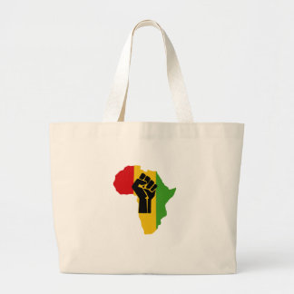 Africa Power - Reggae Large Tote Bag