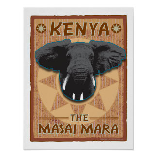 Africa-Print Poster