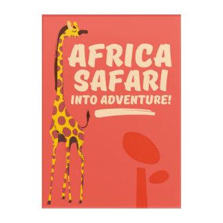 Africa Safari Into Adventure! Acrylic Print