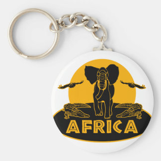 africa safari keychain