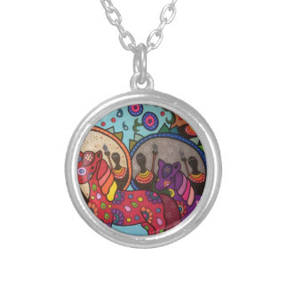 Africa Silver Plated Necklace