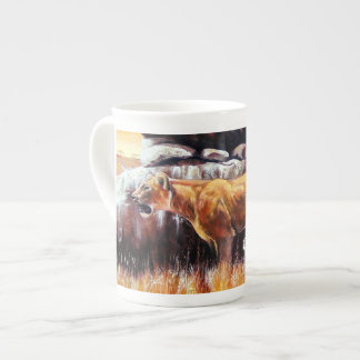 Africa sulks tea cup