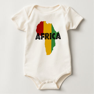 Africa take a rest cokes baby bodysuit
