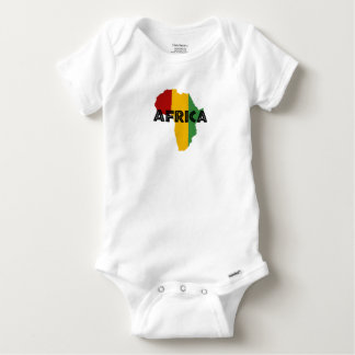 Africa take a rest cokes baby onesie