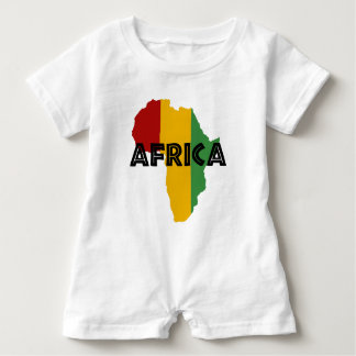 Africa take a rest cokes baby romper