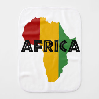 Africa take a rest cokes burp cloth