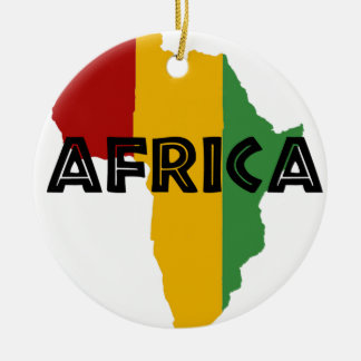 Africa take a rest cokes ceramic ornament