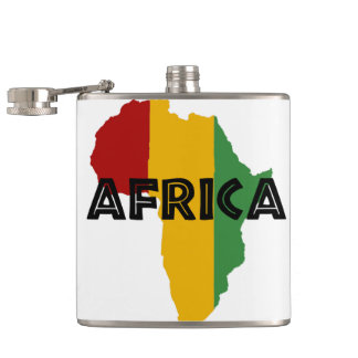 Africa take a rest cokes hip flask
