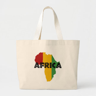 Africa take a rest cokes large tote bag