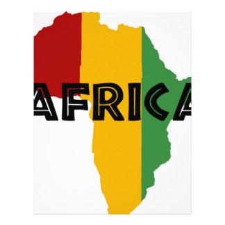 Africa take a rest cokes letterhead