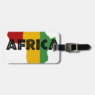 Africa take a rest cokes luggage tag