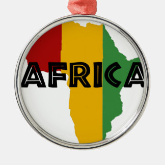 Africa take a rest cokes metal ornament