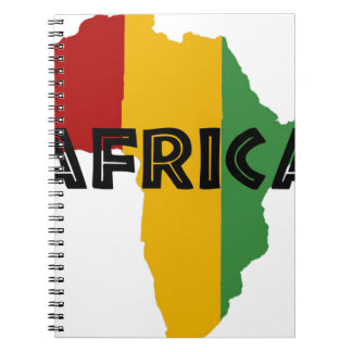 Africa take a rest cokes notebook