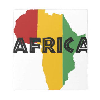 Africa take a rest cokes notepad