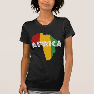 Africa take a rest cokes on black T-Shirt
