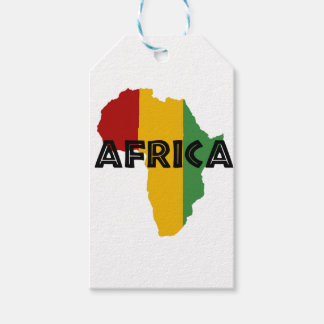 Africa take a rest cokes pack of gift tags
