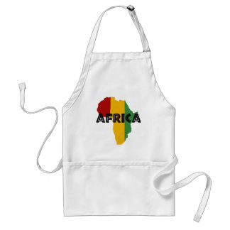 Africa take a rest cokes standard apron