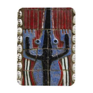 Africa, Togo, Kpalime. Artisan handicraft center Magnet