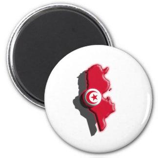 AFRICA: Tunisia (3d) Magnet