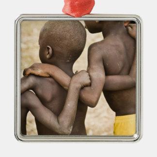 Africa, West Africa, Ghana, Yendi. Close-up shot Metal Ornament