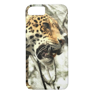 africa wildlife safari animal Wild Leopard iPhone 8/7 Case