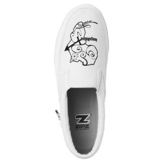 africaforlife slipons keangelidesart Slip-On sneakers