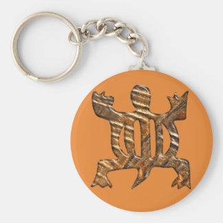African Adinkra simbol of adaptability. Keychain