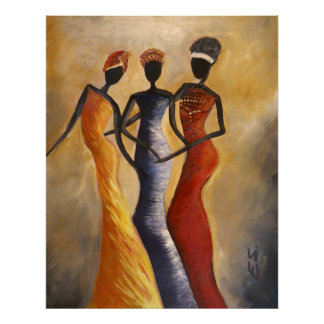African American Art picture Poster