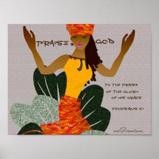 African American Art Poster