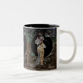 """""""African American art""""vintage black queen mug"""