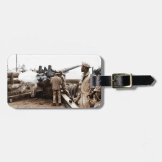 African American Artillerymen Luggage Tag