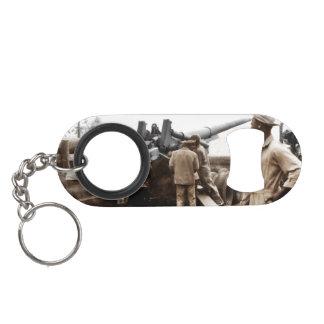 African American Artillerymen Mini Bottle Opener