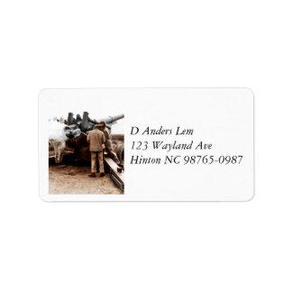African American Artillerymen WWII