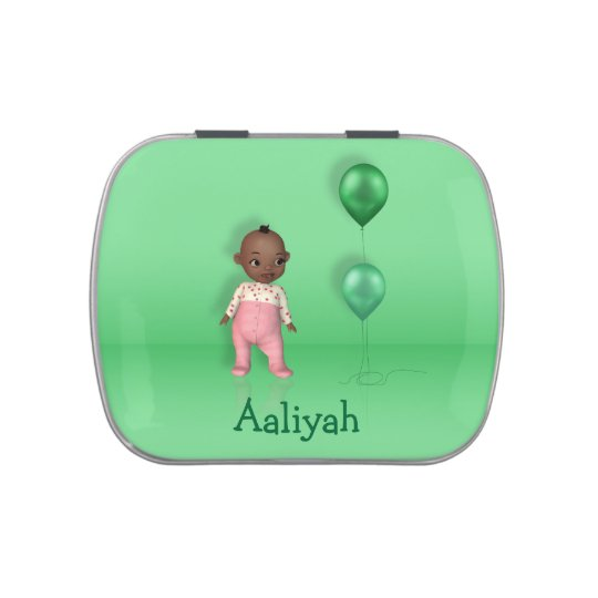 African American Baby Girl Name This! - Candy Tin