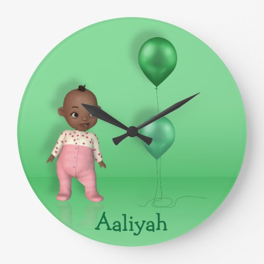 African American Baby Girl Name This! - Wall Clock