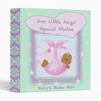 African American Baby Photo Book Binder