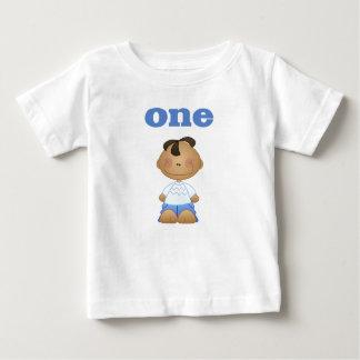 African American Boy 1 Baby T-Shirt