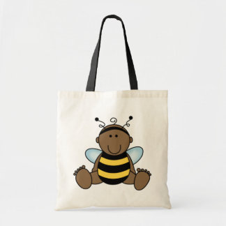African American Bumble Bee Baby Tote Bag