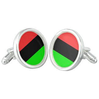 African American Flag Cuff Links