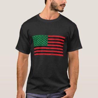 African American Flag Tee Shirt