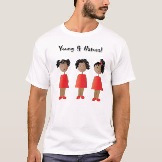 African American Kids and Natural Hair T-Shirt