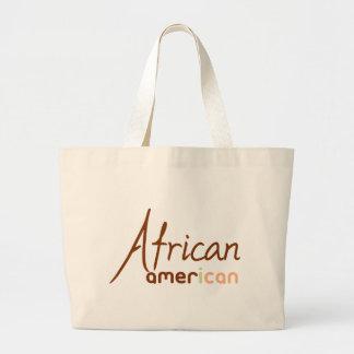 African American Large Tote Bag